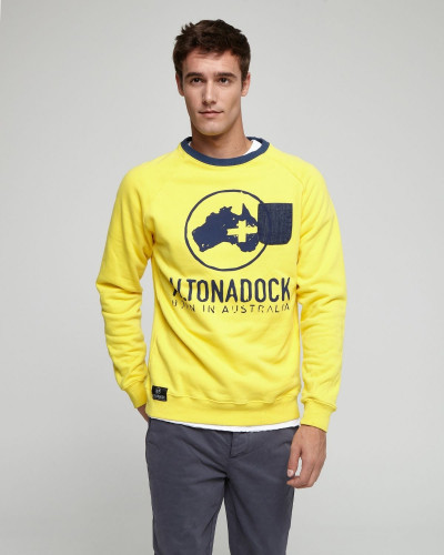 Altonadock yellow sweatshirt