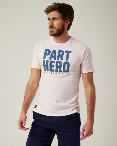 "Pink T-shirt ""Part Hero"""