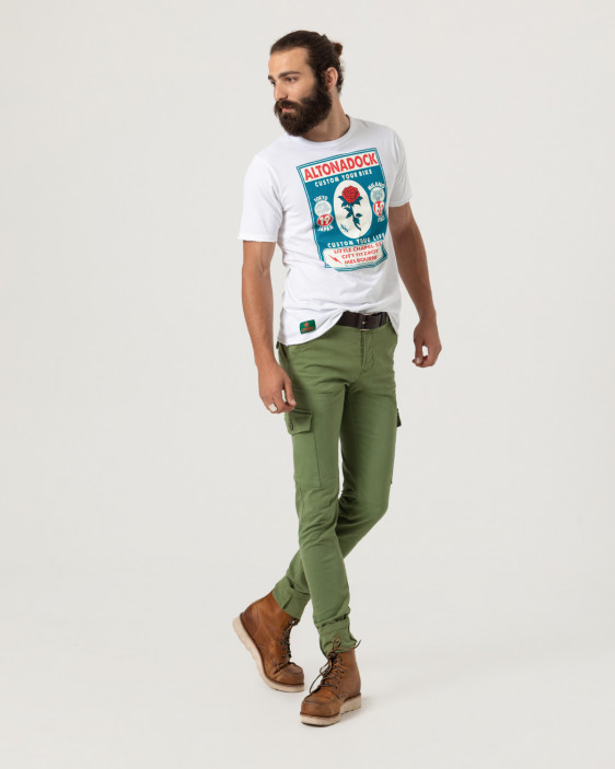 Short sleeve t-shirt with front print