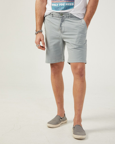 Chinese men's gray shorts