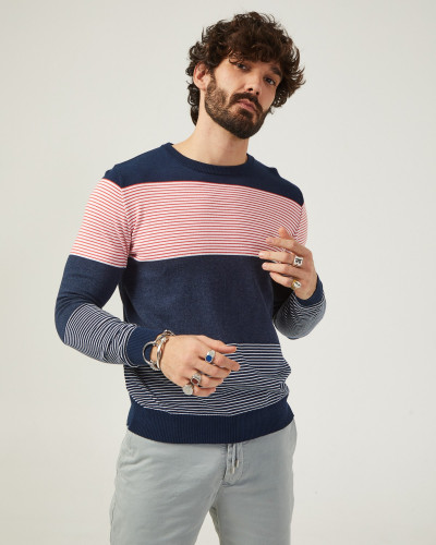 Basic men's sweater with...