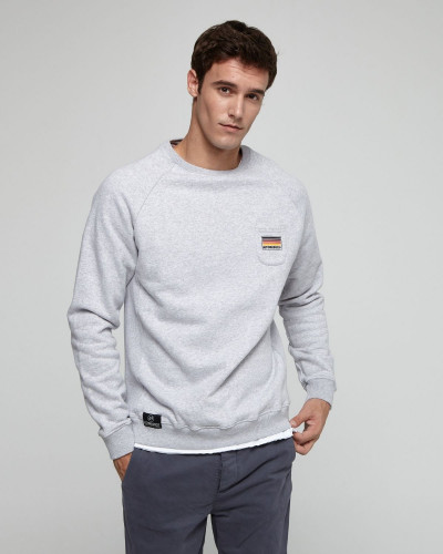 Sweatshirt with side and...