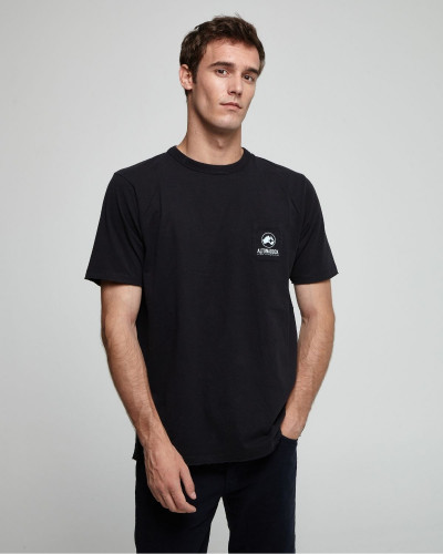 T-shirt with side and back...
