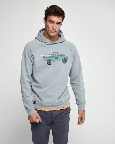 Sweatshirt with front design